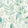 Papir peint Joy vert bleu gris or -GREEN LIFE- Caselio GNL101697620