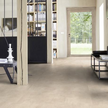 Revêtement PVC - Largeur 4m - Kiruma warm beige - Essentials 220T Tarkett