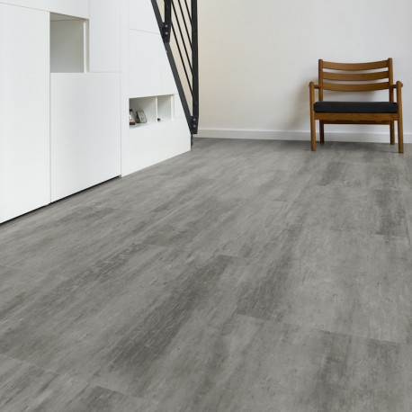 "CORETEC Essentials, STONE - Dalles PVC clipsables - "" 50LVT1803 Wheathered Concrete"""