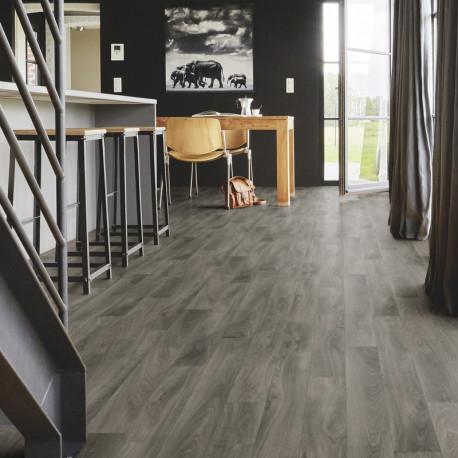 Revêtement PVC - Largeur 4m - parquet French oak anthracite - Exclusive 240 Tarkett