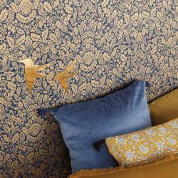 Papier peint Protection bleu indigo doré -MYSTERY- Caselio MYY101616606