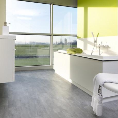 MANIA Penthouse - Dalles vinyles PVC à clipser - Flagstone nuances gris