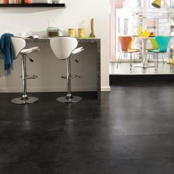 LOOSELAY béton gris foncé Madison - Dalles vinyles PVC auto-plombantes - aspect minéral