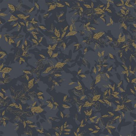 Papier peint Gadagne noir -JARDINS SUSPENDUS- Casadeco JDSP85209303