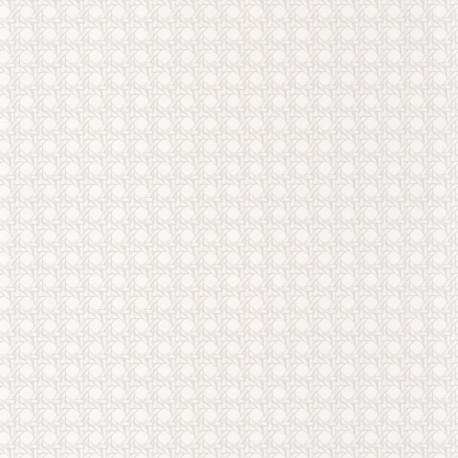 Papier peint Paja blanc -CUBA- Casadeco CBBA84340033
