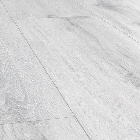 """FALQUON Wood """" P1007 Ice """" chêne glacier - lames vinyles à clipser The Floor"""