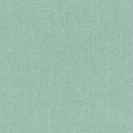 Papier peint intissé uni MELODY vert d'eau - Lutèce