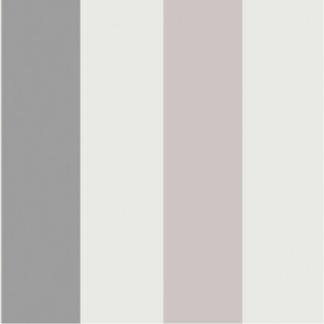 Papier peint RAYURES larges gris - Collection FREGATE - CASADECO