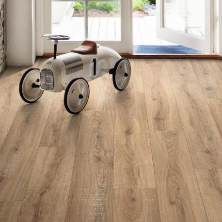 Revêtement PVC bois naturel - Largeur 3M - Sorbonne Melinda 534 - Leoline IVC