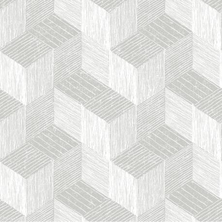 Papier peint à motif FRENO gris JF3302 - JUNGLE FEVER - Grandeco