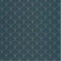 Papier peint Stardust bleu pétrole or - THE PLACE TO BED - Caselio - PTB101826122