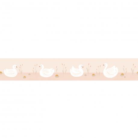 Frise enfant Léonie rose nude - ROSE & NINO - Casadeco - RONI85514118