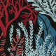 Papier peint Posidonie multicolore - ORPHEE - Casamance - 74700508