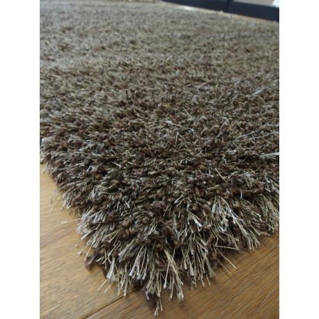 Tapis shaggy gris 60x115cm SAMBA SHAGGY - Balta