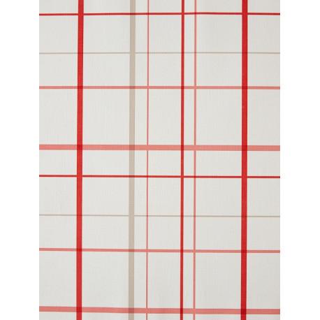 Papier peint Torchon rouge - CAVAILLON - Caselio - CAV65058000