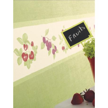 Frise papier peint à motif Fruits - Cavaillon - Caselio