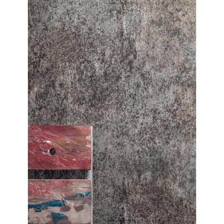 Papier peint Métal gris anthracite - METAPHORE - Caselio - MTE65529000