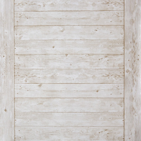 """Papier peint METAPHORE effet """" échelle bois """" beige par Caselio"""