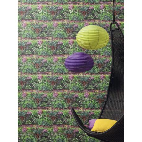 Papier peint Mur Végétal vert - METAPHORE - Caselio - MTE65607077