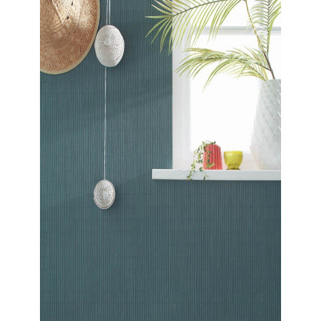 Papier peint Store émeraude - AMAZONIA - Caselio - AMZ66487179