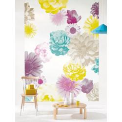 Panoramique intissé Flower - collection VITAMINE - Caselio