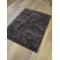 Tapis Shaggy Como - 115x160 cm - Marron