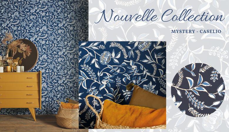 Jolie collection aux motifs indiens, cachemire, baroque, éléphant, couleurs ravissantes